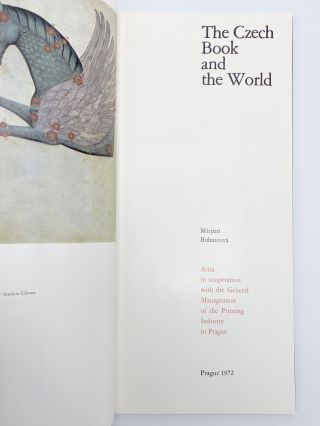 The Czech Book and the World