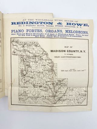 Gazetteer & Business Directory of Madison County, NY for 1868-9. Hamilton CHILD
