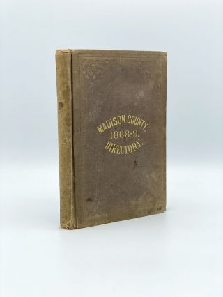 Gazetteer & Business Directory of Madison County, NY for 1868-9