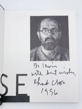 Chuck Close: Life and Work 1988-1995
